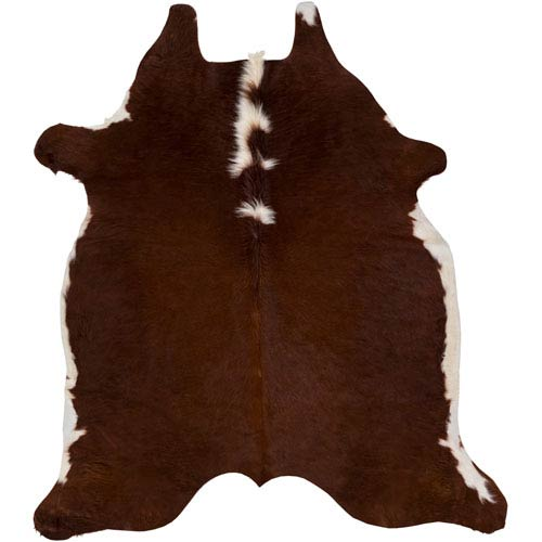 Rawhide Neutral and Brown Rectangular: 5 Ft x 6 Ft Rug Product Image