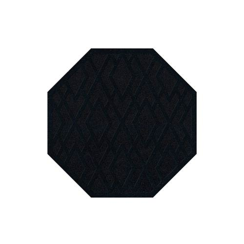 Dover DV1 Black Octagonal: 4 Ft. Area Rug Product Image