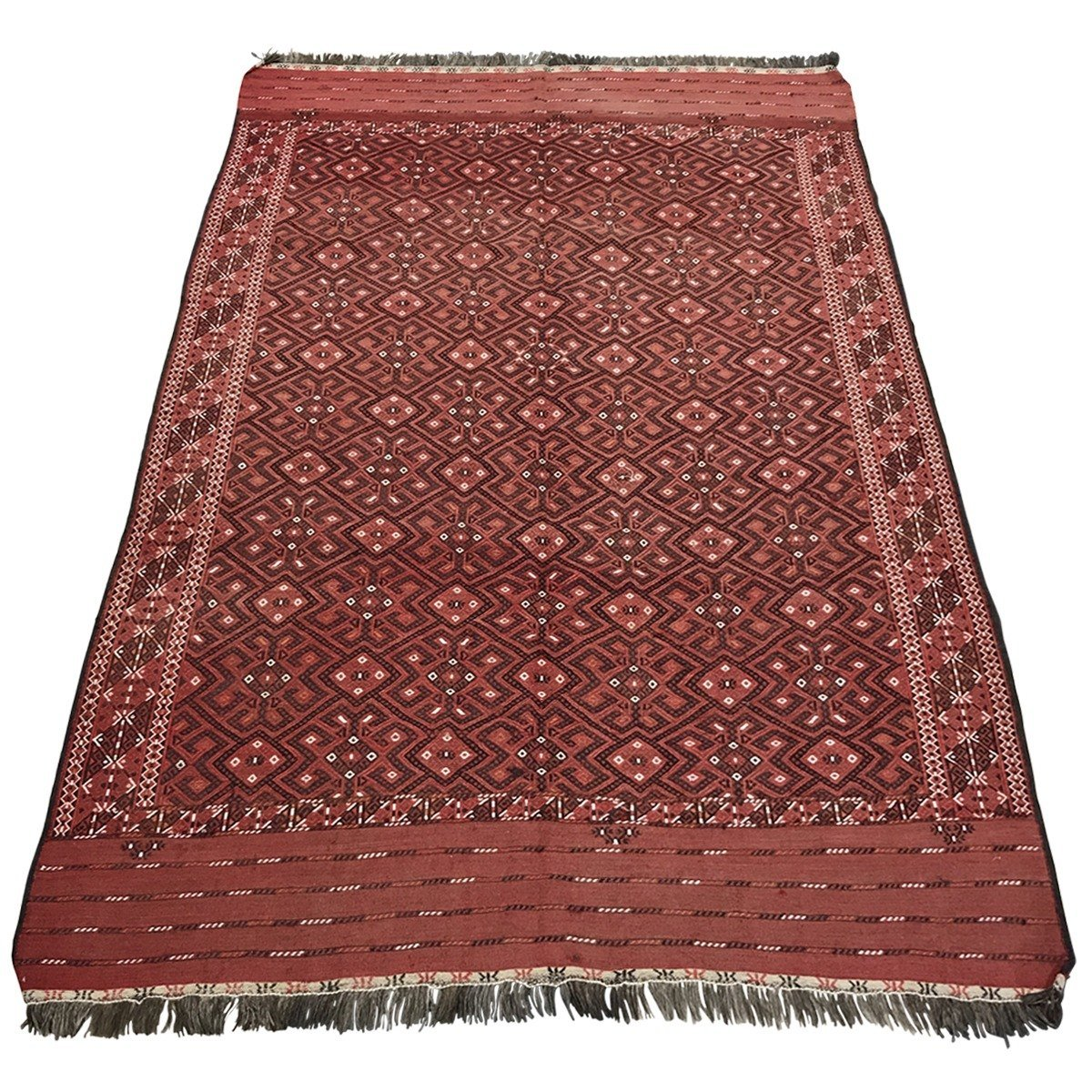"Woven Concepts 1900 Persian Sumac Wool Rug 6'9"" X 10'2"" - Woven Concepts Persian Rugs Product Image"
