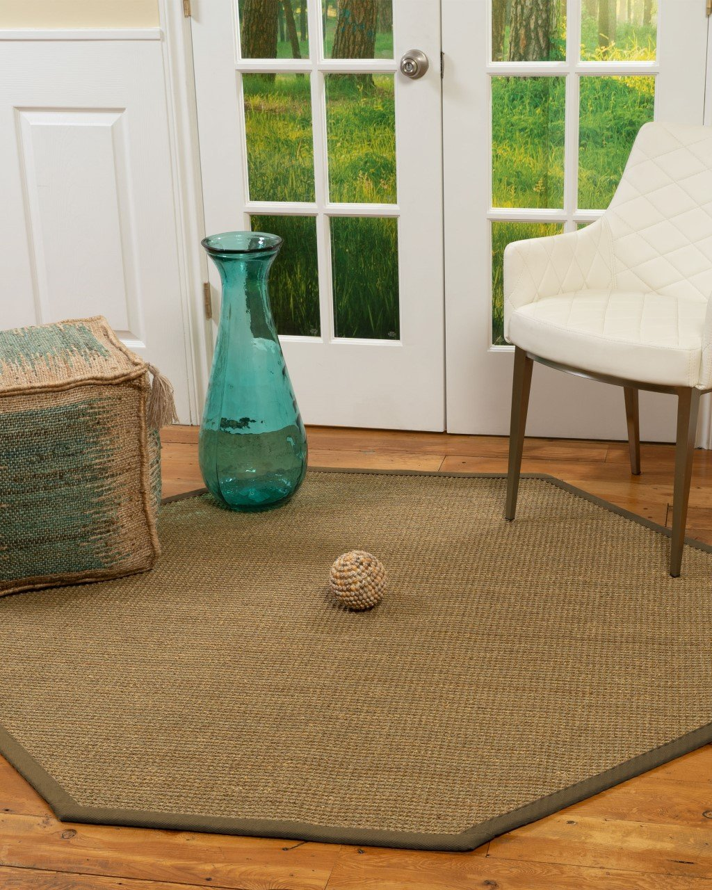 Montes Seagrass Rug, 6' Octagon Product Image
