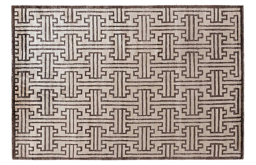 Sylvie Rug - Ivory/Chocolate - Exquisite Rugs