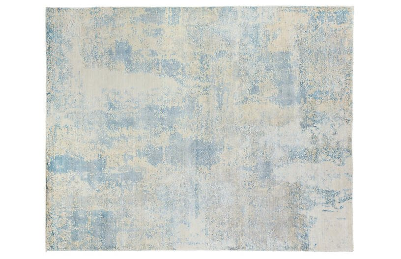Sorento Hand-Knotted Rug - Blue - Exquisite Rugs