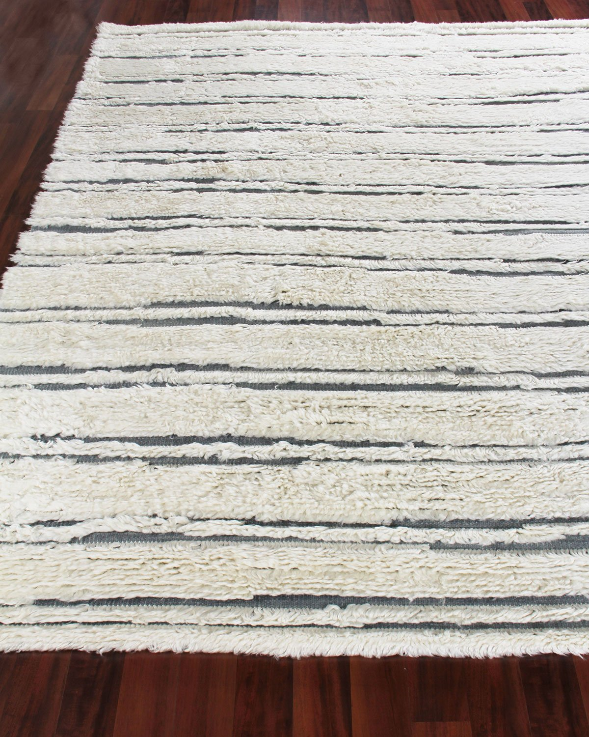 Romon Hand-Knotted Rug, 6' x 9' Product Image
