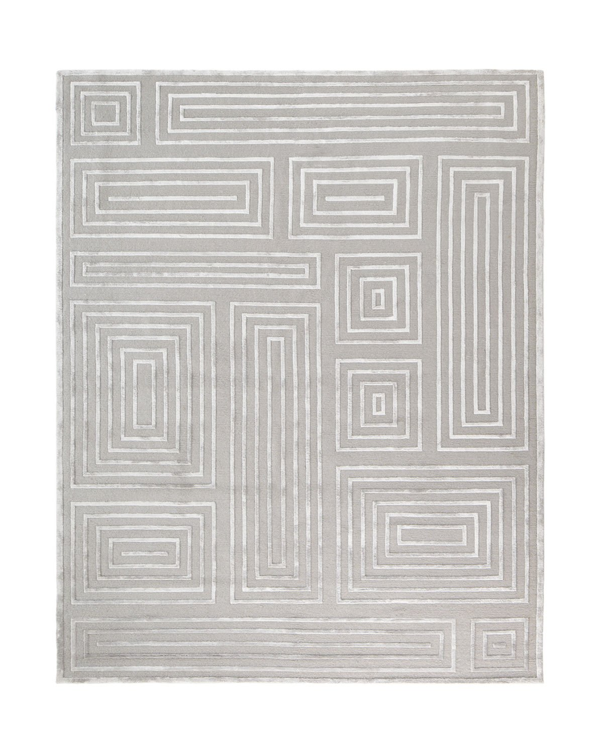 Spiral Quads Rug, 8' x 10' Product Image