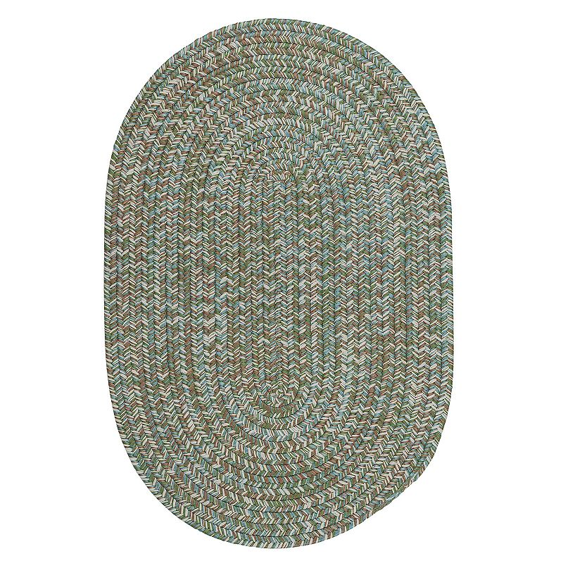 Colonial Mills Carrington Tweed Indoor Outdoor Rug, Blue, 6X8 Ft Product Image
