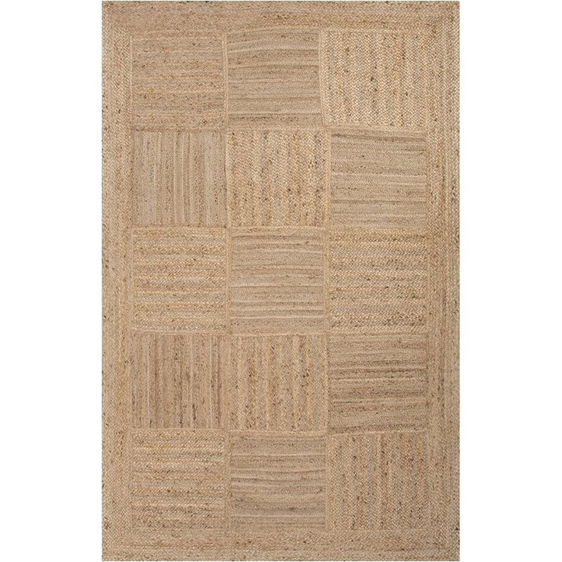 Jaipur Living Naturals Tobago 8' x 10' Jute Rug in Taupe and Tan Product Image