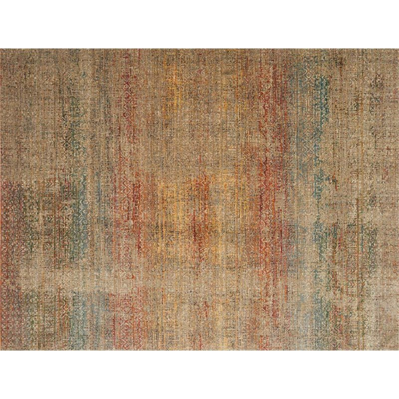 Loloi Javari 12' x 15' Contemporary Rug in Smoke and Prism Product Image