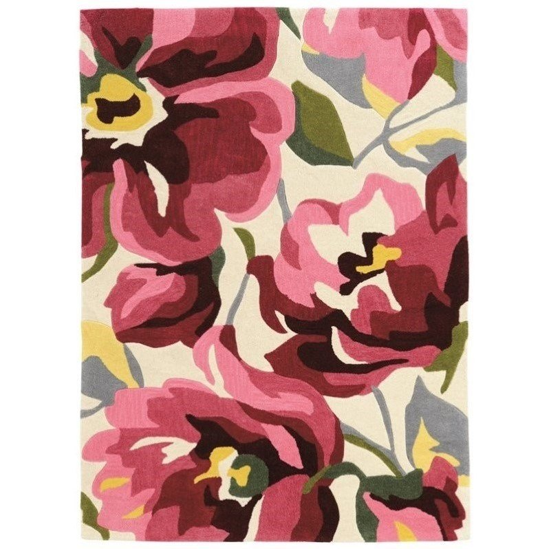Riverbay Furniture 8' x 10' Hand Tufted Rug in Pink Product Image