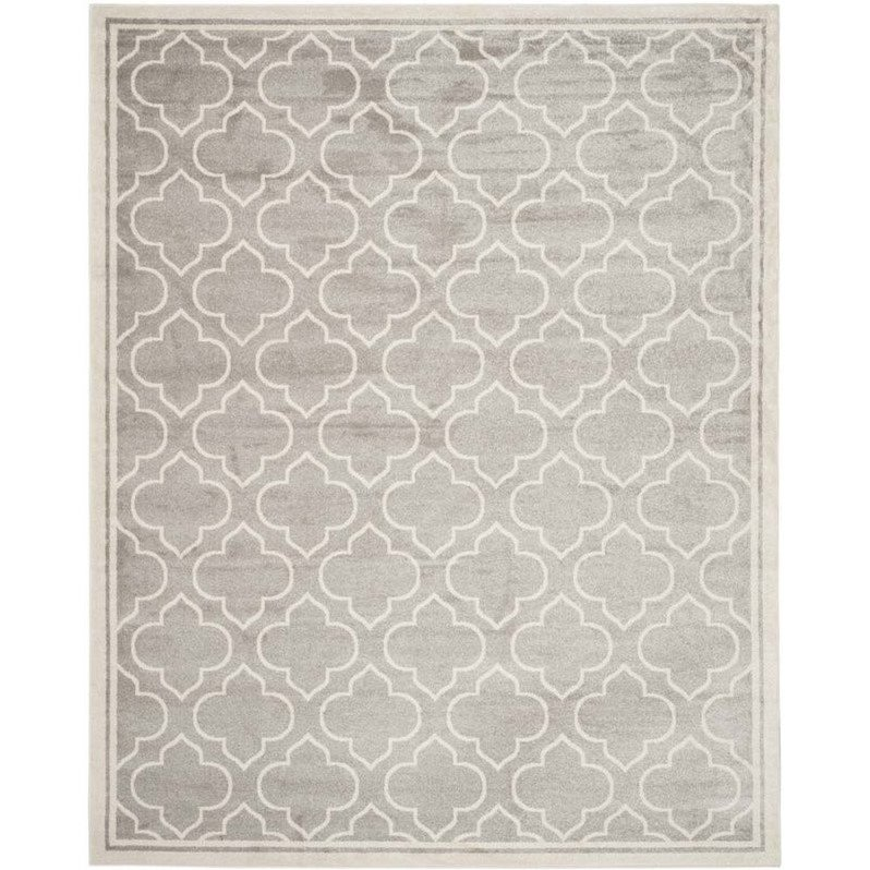 Safavieh Amherst Light Grey Indoor Outdoor Rug - 12' x 18' Product Image