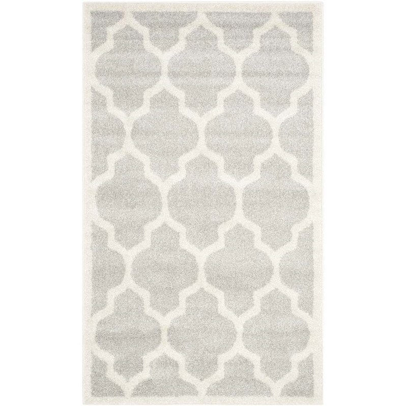 Safavieh Amherst Light Grey Indoor Outdoor Rug - 9' x 12' Product Image