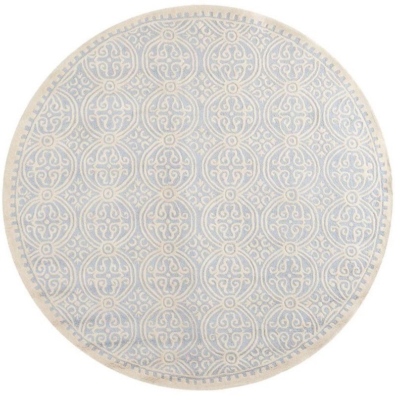 Safavieh Cambridge Light Blue Transitional Rug - Round 10' Product Image