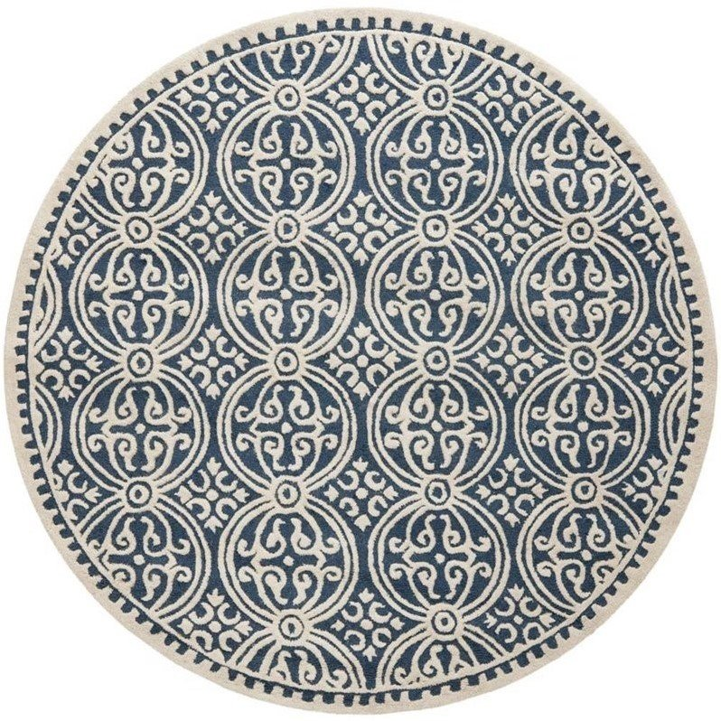 Safavieh Cambridge  Transitional Rug - Round 9' Product Image