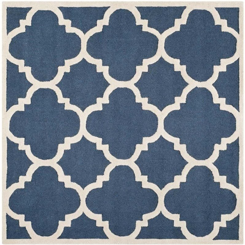 Safavieh Cambridge Navy Transitional Rug - Square 10' Product Image