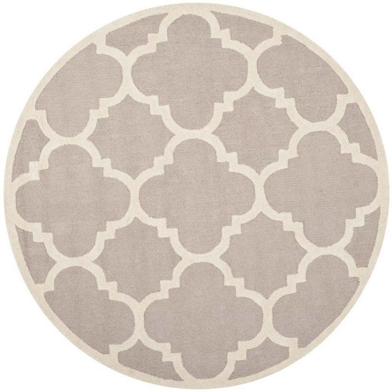 Safavieh Cambridge Beige Transitional Rug - Round 10' Product Image