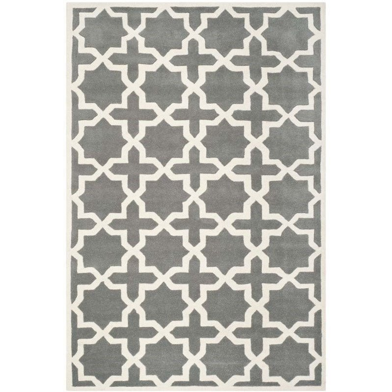 Safavieh Chatham Dark Grey Contemporary Rug - 8' x 10' Product Image