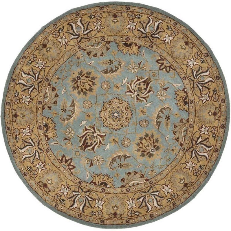 Safavieh Heritage Blue Traditional Rug - Round 10' Product Image