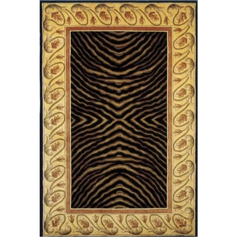Momeni New Wave 2'6 X 12' Runner Rug in Black Product Image