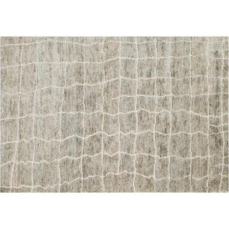 Loloi Sahara 4' x 6' Hand Knotted Jute Rug in Birch Product Image