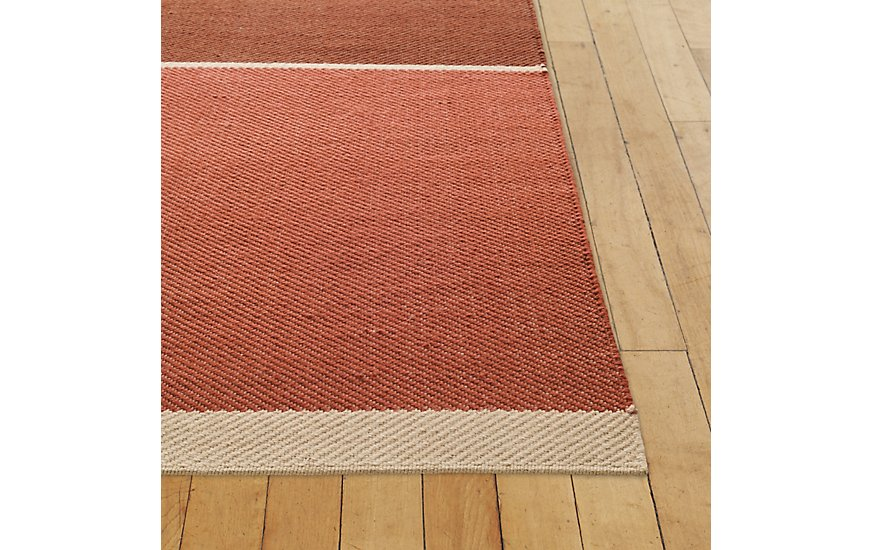 Maharam Merger Rug, Red, 8' x 10' by Design Within Reach Product Image
