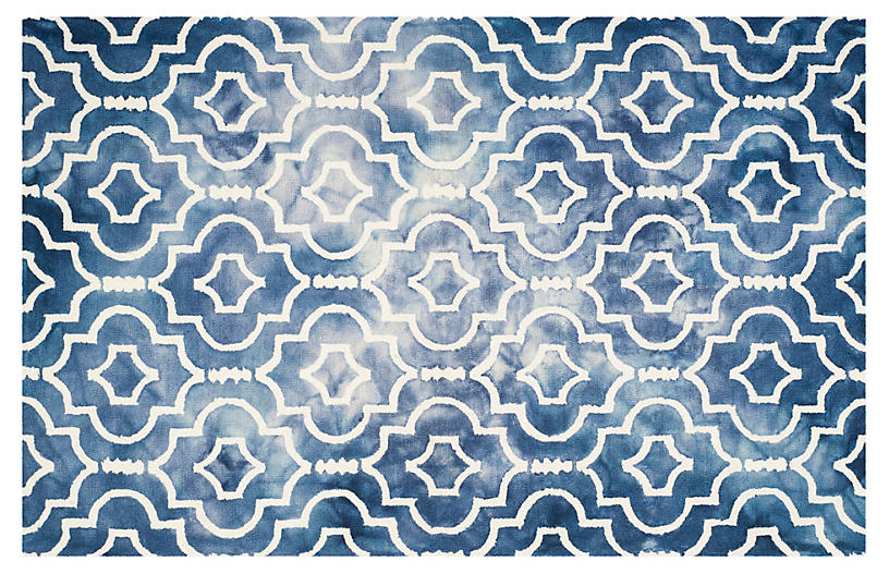 Aluin Rug - Navy/Ivory - 9'x12' Product Image