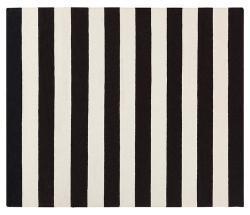 Hermie Flat-Weave Rug - Black - 8'x11' Product Image